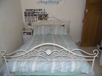 Standard Double Alice Bed and Mattress from Laura Ashley