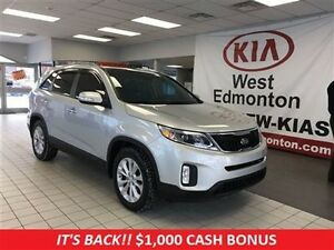 2014 Kia Sorento EX AWD, V6, Heated Leather Seats, Great Buy!!