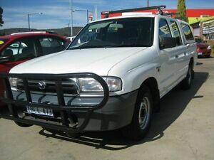 2000 Mazda Bravo VERY TIDY** White 5 Speed Manual Dual Cab Maddington Gosnells Area Preview