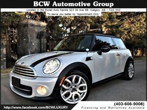 2013 MINI Cooper Manual Navigation Certified Low Km Must See!