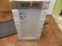 sharp slimline dishwasher new qw-s22f472w white freestanding