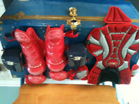 Youth Catcher's Chest Protector and Leg Guards
