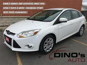 2012 Ford Focus SE | $50 Weekly $0 Down *OAC / Auto / AC