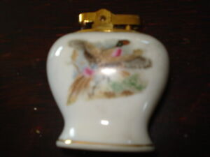 4 small ashtrays and matching cigarette lighter Peterborough Peterborough Area image 3