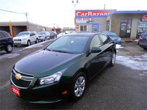 2014 CHEVROLET CRUZE 1LT CLEAN LIKE NEW EASY FINANCING AVAILABLE