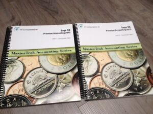 SAGE 50 PREMIUM ACCOUNTING 2013 LEVEL 1 AND 2 - GENTLY USED