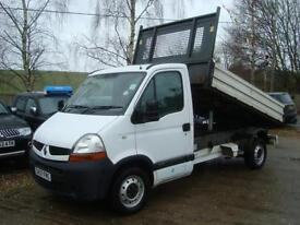 2007 RENAULT MASTER 2.5 DCI TIPPER ALLOY BODY LEZ COMPLIANT NO VAT