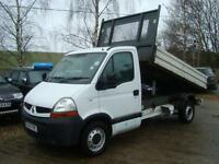 2007 RENAULT MASTER 2.5 DCI TIPPER ALLOY BODY LEZ COMPLIANT
