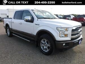 2015 Ford F-150 Lariat SuperCrew with Moonroof 2.7L Ecoboost