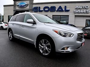 2014 Infiniti QX60  AWD NAVIGATION TV/DVD SUNROOF.