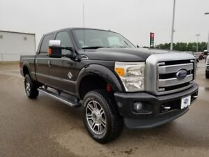 2013 Ford Super Duty F-350 SRW Platinum (Remote Start, Nav, Load