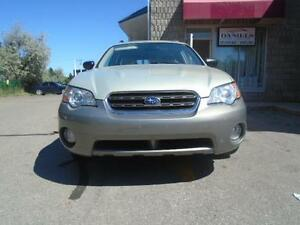 2006 Subaru Outback w/ CLEAN CARPROOF + 4 Extra Tires on Rims