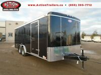 LARGE CARGO TRAILER 8' X 20' ENCLOSED - LOWEST PRICE OF THE YEAR