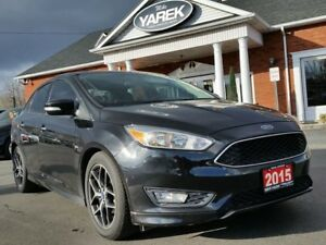 2015 Ford Focus SE, Bluetooth, Back Up Cam, Auto, Cruise, Very C