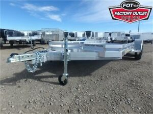 7816 Aluma Car/Utility Trailer ---> Tandem 3,500# Torsion Axles