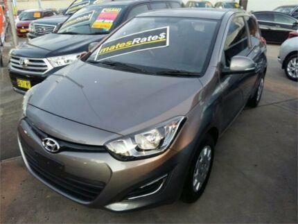 2012 Hyundai i20 PB MY13 Active Grey 4 Speed Automatic Hatchback
