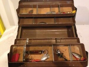 Vintage JC Higgins Tackle Box from Sears Roebuck and Co.