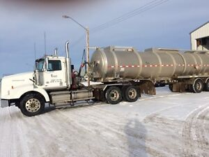 Western Star 2014 Crude hauler and Stephens Tanker trailer 2014