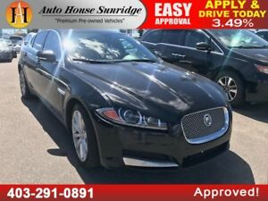 2013 Jaguar XF V6 NAVIGATION, BACKUP CAMERA