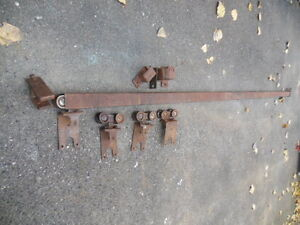 Barn find, Slider track, wheels and brackets.