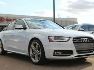 2015 Audi S4 3.0T TECHNIK, HEATED FRONT/REAR SEATS, SUNROOF, NA