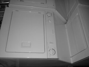 FRIGIDAIRE STACKER, FULL SIZE, WHITE, brand new condition