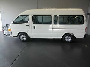 1995 Toyota Hiace LH125R Commuter White 5 Speed Manual Bus Woodridge Logan Area Preview