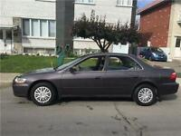 1999 HONDA ACCORD. AUTOMATIC. 4CYL. 118 000km. MEC A1. 2100$