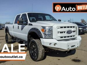 2012 Ford F-350 LIFTED! XLT 4x4 SD Crew Cab 8 ft. box 156 in. WB Edmonton Edmonton Area image 1