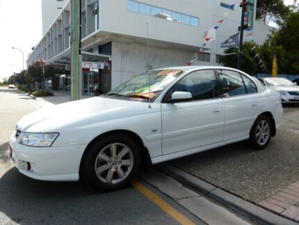 2005 Holden Berlina VZ White 4 Speed Automatic Sedan Southport Gold Coast City Preview