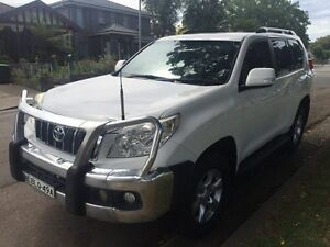 2010 Toyota Landcruiser Prado KDJ150R GXL White 6 Speed Manual Wagon Croydon Burwood Area Preview