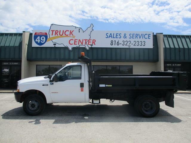 2004 Ford F-550 4X4 11' Dump Truck