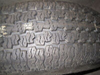 """14"""" Tire with rim just $20!"""