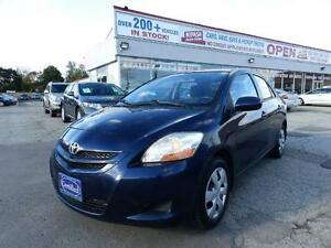 2008 Toyota Yaris POWER WINDOWS & LOCKS ,AC CERTIFIED E-TESTED