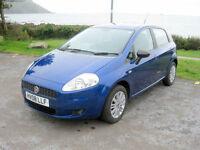2008 (08) Fiat Punto Eleganza 8V, 1368cc Petrol Engine, Automatic Gearbox