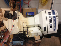 115 HP Evinrude Outboard Motor for Parts