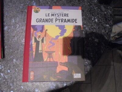 belle reedition toilé blake et mortimer les mystere de la grande pyramide tome 2
