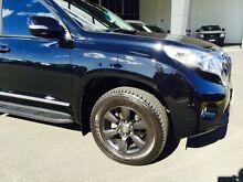 2015 Toyota Landcruiser KDJ150R 11 Upgrade Prado Altitude (4x4) Eclipse Black 5 Speed Sequential Aut Beckenham Gosnells Area Preview