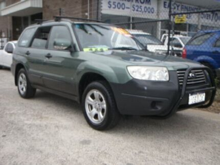 2006 Subaru Forester MY07 X Green 4 Speed Auto Elec Sportshift Wagon Wangara Wanneroo Area Preview
