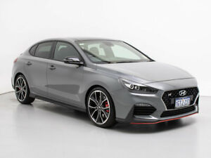 2019 Hyundai i30 PDE.3 Fastback N Perform Lux S.Roof Shadow Grey 6 Speed Manual Fastback Jandakot Cockburn Area Preview