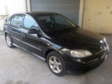 2002 Holden Astra TS City Black 5 Speed Manual Hatchback Edgeworth Lake Macquarie Area Preview