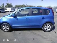 2006 06 NISSAN NOTE AUTOMATIC 5 DOORS LOW MILES