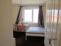 nice ensuite double room close to manchester university is available now