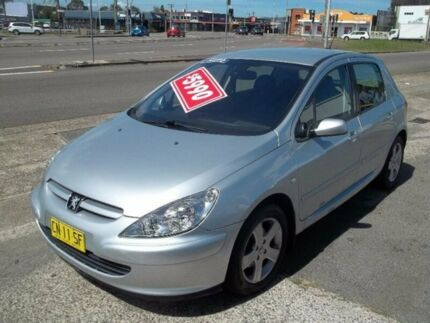 2005 Peugeot 307 T5 MY04 XSE Silver 4 Speed Sports Automatic Hatchback