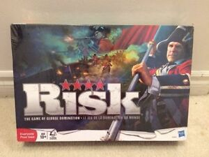 RISK 2010 GAME NEW sealed. Plastic seal is torn a bit.