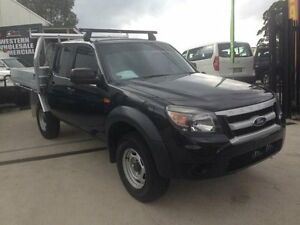 2011 Ford Ranger PK XL (4x2) Black 5 Speed Manual Dual Cab Pick-up St Marys Penrith Area Preview