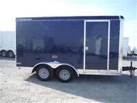 *2016* 7 x 14 Enclosed Trailer - Ramp Door, LEDs, Radial Tires!
