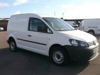 Volkswagen Caddy 1.6 TDI 102Ps STARTLINE VAN DIESEL MANUAL WHITE (2013)