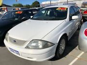2002 Ford Falcon Auiii Futura 4 Speed Automatic Sedan St James Victoria Park Area Preview