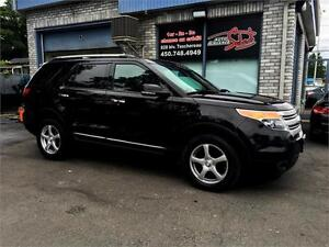 2012 Ford Explorer XLT 4WD GPS CUIR TOIT PANORAMIQUE CAMERAS